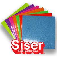 """Siser Glitter Neon Color Pack 12"""" X 12"""""""