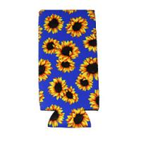 Can Cooler - Tall - Royal Sunflower