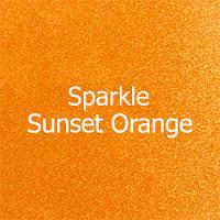 "Siser SPARKLE-Sunset Orange 12"" x 12"" Sheet"