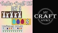 Video Thumbnail for Easter Craft Kit Day 5!