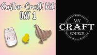 Video Thumbnail for Easter Craft Kit Day 1!