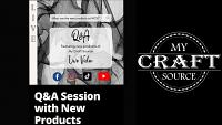 Video Thumbnail for Q&A / New Products