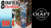 Video Thumbnail for 8 Crafts of Christmas Day 4!
