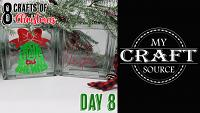 Video Thumbnail for 8 Crafts of Christmas Day 8!