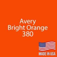 "Avery - Bright Orange - 380 - 12"" x 12"" Sheet"
