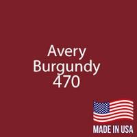 "Avery - Burgundy - 470 - 12"" x 12"" Sheet"
