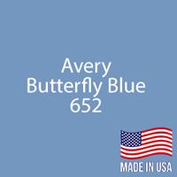 """Avery - Butterfly Blue - 652 - 12"""" x 12"""" Sheet"""