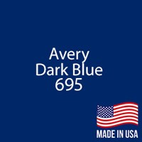 "Avery - Dark Blue - 695 - 12"" x 12"" Sheet"
