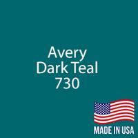 "Avery - Dark Teal - 730 - 12"" x 12"" Sheet"