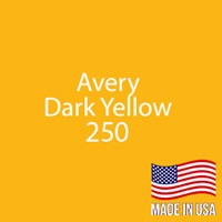 "Avery - Dark Yellow - 250 - 12"" x 12"" Sheet"