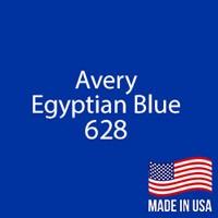 "Avery - Egyptian Blue - 628 - 12"" x 12"" Sheet"