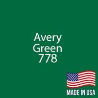 """Avery - Green - 778 - 12"""" x 12"""" Sheet"""