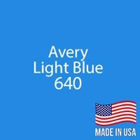 "Avery - LT Blue - 640 - 12"" x 12"" Sheet"