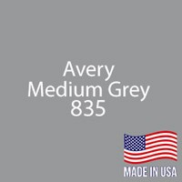 """Avery - Med Gray - 835 - 12"""" x 12"""" Sheet"""