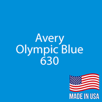 "Avery - Olympic Blue - 630 - 12"" x 12"" Sheet"