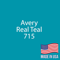 "Avery - Real Teal - 715 - 12"" x 12"" Sheet"