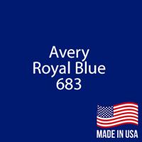 "Avery - Royal Blue - 683 - 12"" x 12"" Sheet"