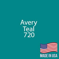 "Avery - Teal - 720 - 12"" x 12"" Sheet"