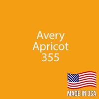 """Avery - Apricot - 355 - 12"""" x 12"""" Sheet"""