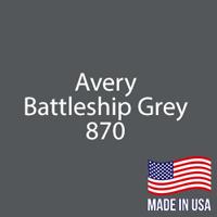 "Avery - Battleship Gray - 870 - 12"" x 12"" Sheet"