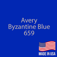"Avery - Byzantine Blue - 659 - 12"" x 5 Foot"