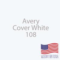 "Avery - Cover White - 108 - 12"" x 24"" Sheet"