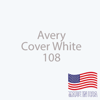 "Avery - Cover White - 108 - 12"" x 12"" Sheet"