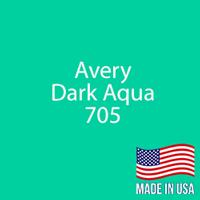 "Avery - Dark Aqua - 705 - 12"" x 12"" Sheet"