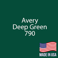 "Avery - Deep Green - 790 - 12"" x 12"" Sheet"