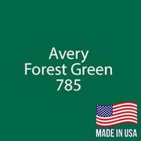 "Avery - Forest Green - 785 - 12"" x 12"" Sheet"