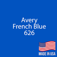 "Avery - French Blue - 626 - 12"" x 12"" Sheet"