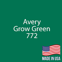 "Avery - Grow Green - 772 - 12"" x 12"" Sheet"