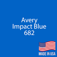 "Avery - Impact Blue - 682 - 12"" x 5 Foot"
