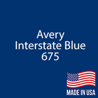"Avery - Interstate Blue - 675 - 12"" x 5 Foot"