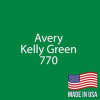 """Avery - Kelly Green - 770 - 12"""" x 12"""" Sheet"""