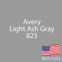 "Avery - LT Ash Gray - 825 - 12"" x 12"" Sheet"