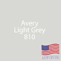 "Avery - LT Gray - 810 - 12"" x 12"" Sheet"