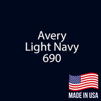 "Avery - LT Navy - 690 - 12"" x 12"" Sheet"