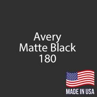 """Avery - Matte Black - 180 - 12"""" x 12"""" Sheet"""