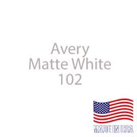 """Avery - Matte White - 102 - 12"""" x 12"""" Sheet"""