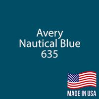 """Avery - Nautical Blue - 635 - 12"""" x 12"""" Sheet"""