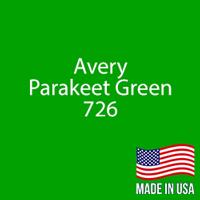 """Avery - Parakeet Green - 726 - 12"""" x 12"""" Sheet"""