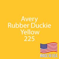 """Avery - Rubber Duckie - 225 - 12"""" x 24"""" Sheet"""