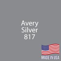 "Avery - Silver - 817 - 12"" x 12"" Sheet"