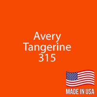 "Avery - Tangerine - 315 - 12"" x 12"" Sheet"