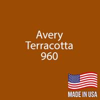 "Avery - Terracotta - 960 - 12"" x 5 Foot"