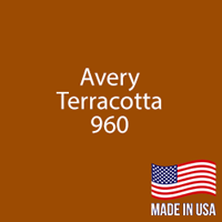 "Avery - Terracotta - 960 - 12"" x 12"" Sheet"
