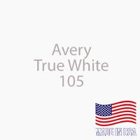 "Avery - True White - 105 - 12"" x 12"" Sheet"