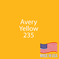 "Avery - Yellow - 235 - 12"" x 24"" Sheet"