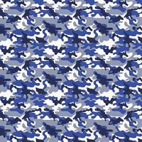 Adhesive  #162 Blue Camo